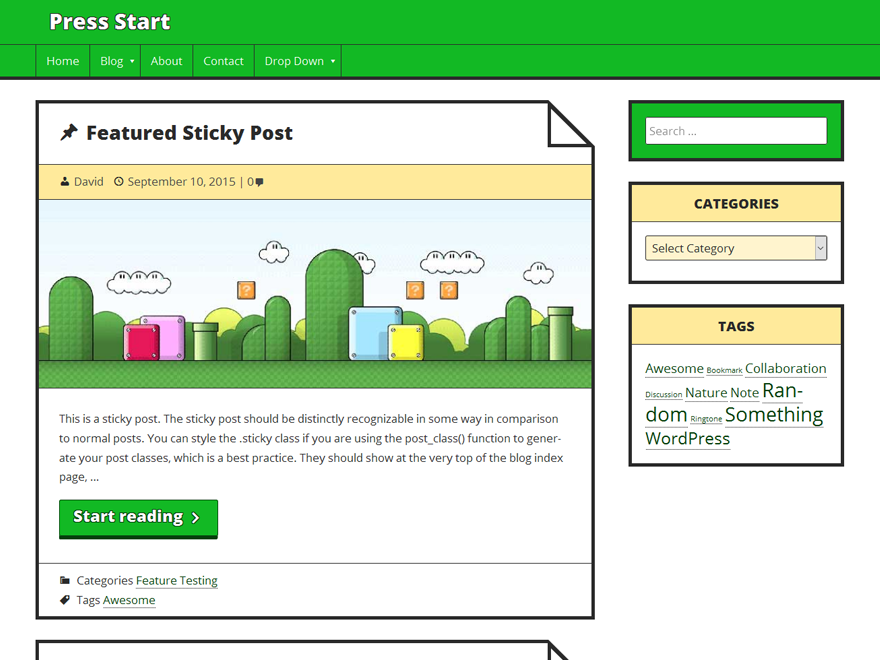 Eco Nature WordPress Theme Free Download